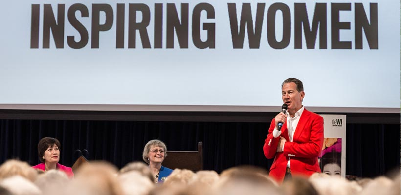 Michael Portillo at the Wi National Conference