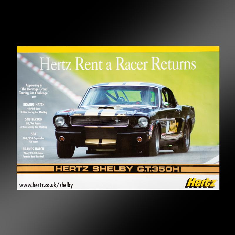 Hertz rent a racer campaign