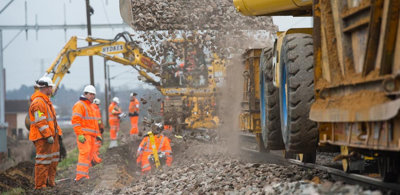 Railway infrastructure project in Ipswich