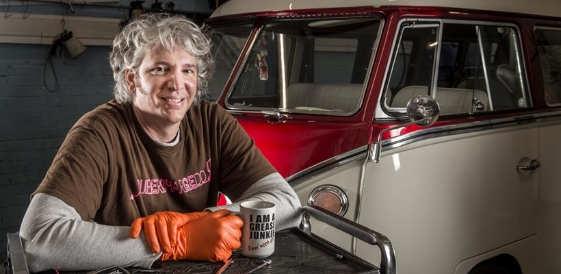 Edd China portrait