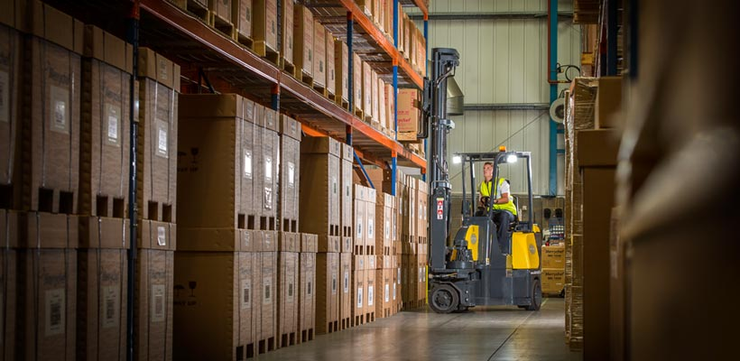Fork Lift Truck in industrial setting