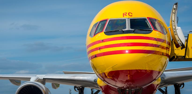DHL Freight at East Midlands Airport