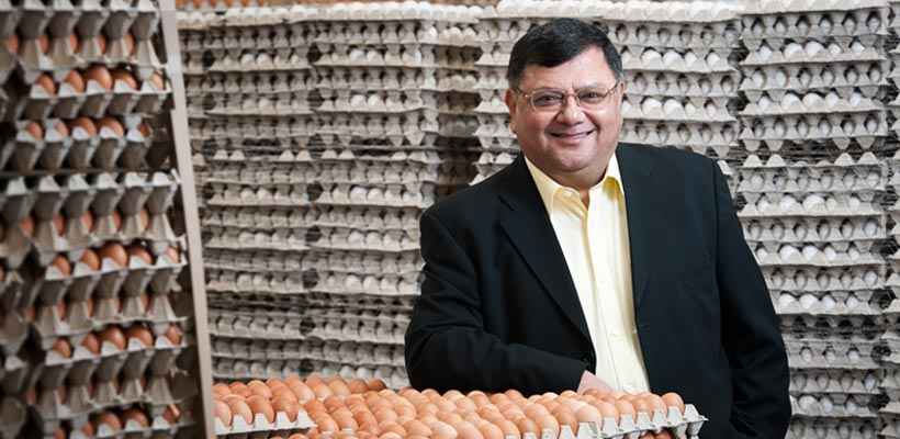 Egg producer in Leicester