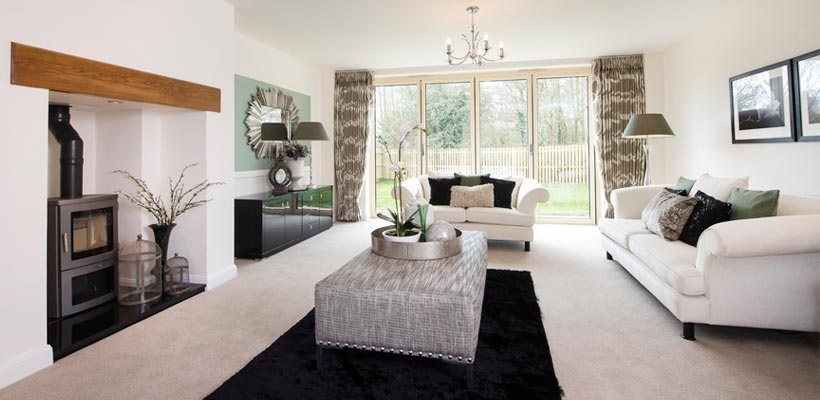 Lovely show home photography in Leicestershire
