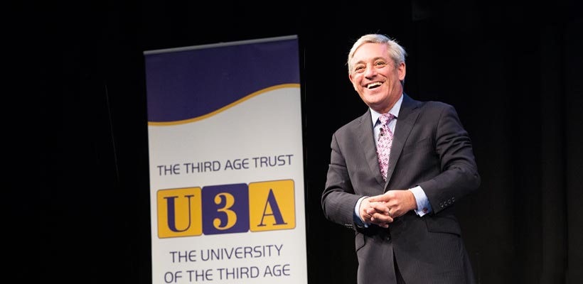 John Bercow Photographed by Peter Alvey Photographer