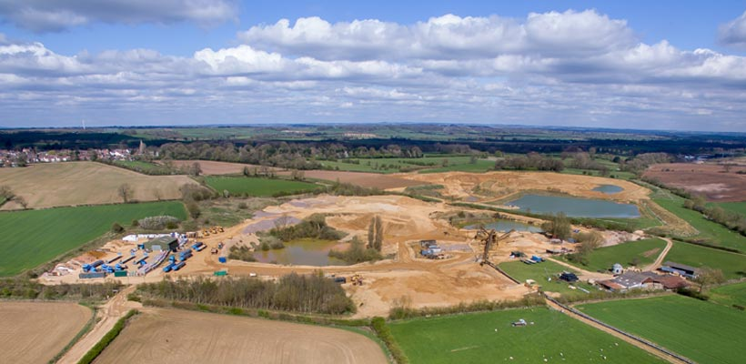Aerial photography in Leicestershire