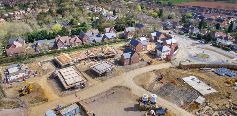 Aerial photography for the building industry