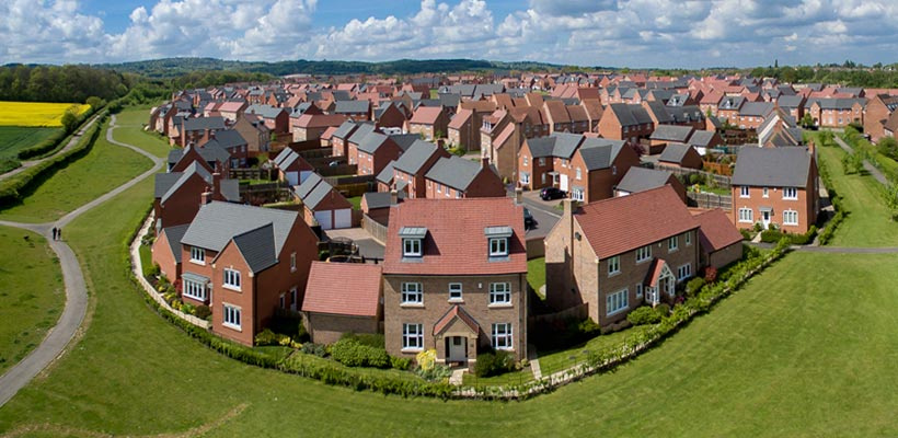 Aerial photography by drone in Loughborough