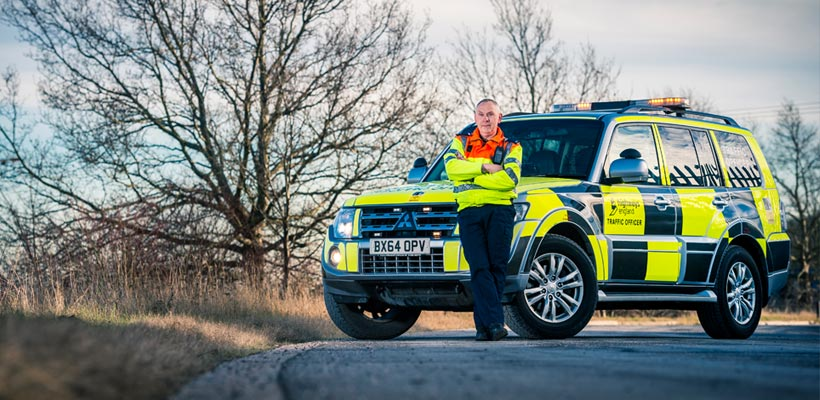 Highways Agency traffic officer
