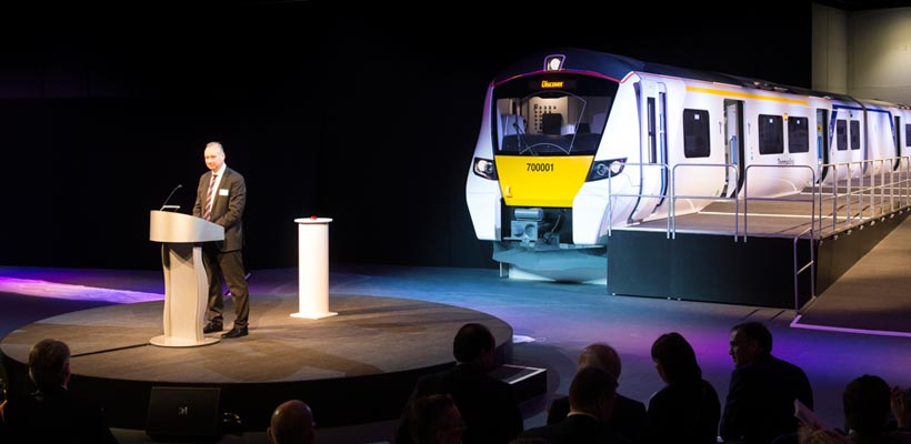 Siemens Class 700 Launch Event